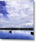 In The Blue. Metal Print