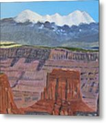 In The Canyonlands Utah Metal Print
