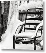 In The Cold Seat Metal Print