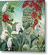 In The Company Of Angels Metal Print