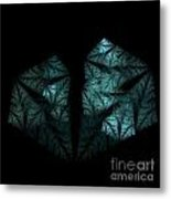 In The Deep Dark Forest Metal Print