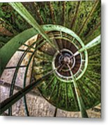 In The Eye Of The Spiral  Metal Print