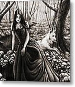 In The Forest. Metal Print