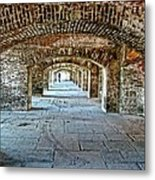 In The Fort Arches Metal Print