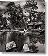In The Garden Metal Print