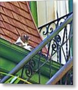 In The Gutter Metal Print