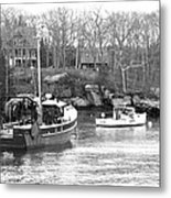 In The Harbor Metal Print by Becca Brann