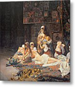 In The Harem Metal Print