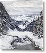 In The Heart Of The Winter Metal Print