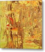in the Jamaica forest Metal Print