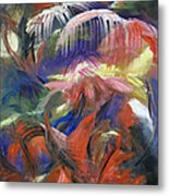 In The Jungle Metal Print by Roberta Rotunda