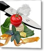 In The Kitchen 4 Metal Print