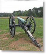 In The Line Of Fire - Manassas Battlefield Metal Print
