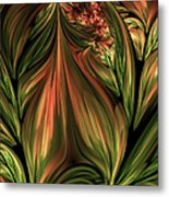In The Midst Of Nature Abstract Metal Print