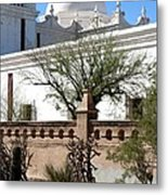 In The Mission Garden Metal Print
