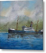 In The Mists Of Martinique Metal Print