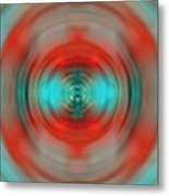 In The Moment - Energy Art By Sharon Cummings Metal Print