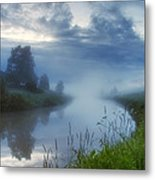 In The Morning At 02.57 Metal Print