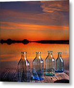 In The Morning At 4.33 Metal Print by Veikko Suikkanen