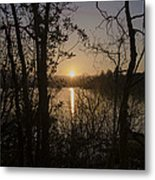 In The Morning At Lough Eske Metal Print