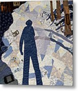 In The Morning I Am So Tall Metal Print by Martha Ressler