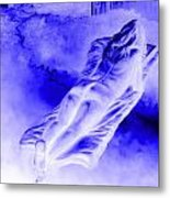 In The Peace Of Books Metal Print