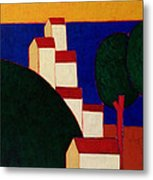 In The Provencal Alps Metal Print