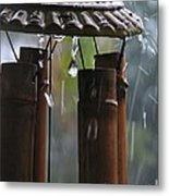 In The Rain Metal Print