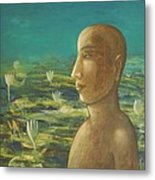 In The Realm Of Buddha Metal Print