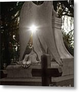 In The Shadow Of His Light Metal Print