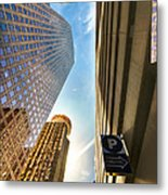 In The Shadow Of The Skyline District Metal Print by Dee Zunker