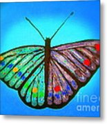 Cosmic Butterfly  Metal Print