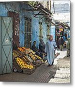 In The Souk Metal Print