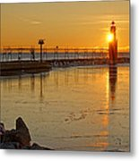 In The Still Of The Light Metal Print