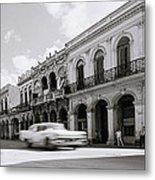 The Streets Of Havana Metal Print