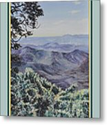 In The Valley Of The Lord Print Metal Print