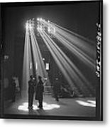 In The Waiting Room At Chicago Union Station Metal Print