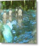 In The Water Metal Print