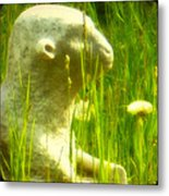 In The Weeds Metal Print