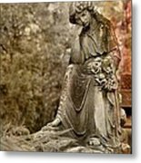 In Thought Metal Print