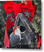 In Time For Christmas Metal Print