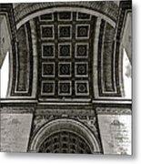 In Triomphe Metal Print