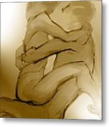 In Your Arms In Your Heart Metal Print by Carolyn Weltman