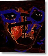 In Your Face Metal Print