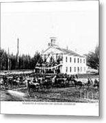 Inauguration Of Washington States First Governor 1889 Metal Print