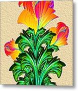 Incendia Flowers #5 Metal Print