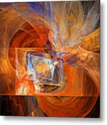 Incendiary Ammunition Abstract Metal Print