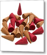 Incense Cones Metal Print