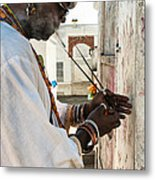 Incense For Marie Laveau Metal Print by Kathleen K Parker