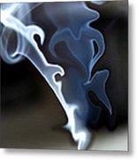 Incense Smoke Dance - Smoke - Dance Metal Print